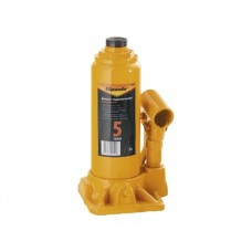 Домкрат бутылочный 5 т, h подъема 195-380 мм// SPARTA 50323