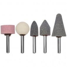 Точильные камни для дрели, 5 шт.// MATRIX 76020
