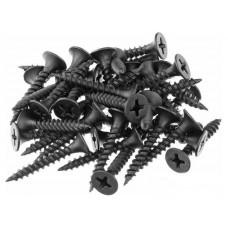 Саморез 3,5*25 гипсокартон/металл, частый шаг резьбы, оксид. (800шт/кг.)(цена за 1кг.)