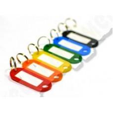 Бирки для ключей, набор 6 шт. FIT 67402М