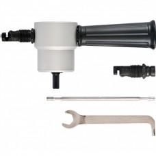 Насадка на дрель для резки листового металла до 1,8 мм металлический кейс//СИБРТЕХ 78303