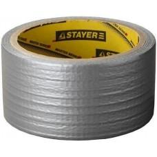 Армированная лента универсальная, влагостойкая, 48мм х 10м, серебристая Stayer 12080-50-10