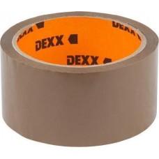 Клейкая лента упаковочная, коричневая, 40мкм, 48мм х 50м DEXX / Сибин 12057-50-50_z01
