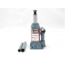 Домкрат бутылочный  2 т с клапаном (h min 150мм, h max 278мм,вес 2,4 кг) Forsage T90204