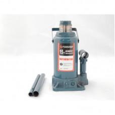 Домкрат бутылочный 15т с клапаном (h min 220мм, h max 435мм) Forsage T91504