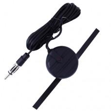 Антенна TR-001 MINI активная на стекло 16см (всеволновая, радиус приема 80км) кабель 250см 12V ТРИАДА TR-001
