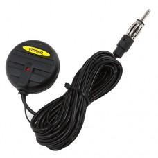 Антенна активная на стекло (всеволновая, радиус приема 150км) кабель 250см 12V ТРИАДА TR-99EXP