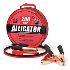 Провода прикуривателя BC-200 морозостойкие 200A 2.5м (медь) ALLIGATOR