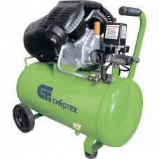 Компрессор воздушный КК-2200/50, 2,2 кВт, 350 л/мин, 50 л, прямой привод, масляный// СИБРТЕХ 58040