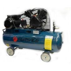 Компрессор 200л 2-х поршневой с ременным приводом (5,5кВт, ресивер 200л, 600л/м, 380В) Forsage F-TB290-200