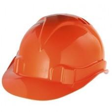 Каска защитная с храповым механизмом Юнона оранжевая КАС402