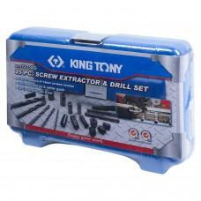 Набор экстракторов и свёрел, 25 предметов KING TONY 11225SQ