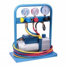 Заправочная станция для кондиционеров ручная, standart CAR-TOOL AC-1025
