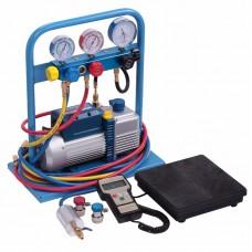 Комплект для заправки кондиционеров, standart CAR-TOOL AC-2025