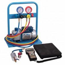 Комплект для заправки кондиционеров, compact CAR-TOOL AC-2014