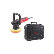 Машина полировальная WORTEX PM 1810 SE в чем. (700 Вт, 6400 об/мин, 150 мм, регул. об., плавный пуск, эксцентрик) (PM1810SE0019)