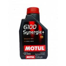 Масло 6100 Synergie+SAE MOTUL 5W30 4л