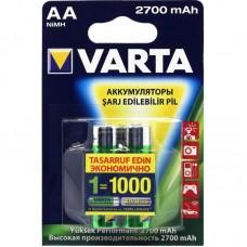 Аккумулятор Varta Professional 5706.301.404 /R6 2700mAh Ni-MH BL4