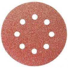 Круг абразивный бум. перф.с лип.зерно Р120 125мм Matrix 1шт 73806