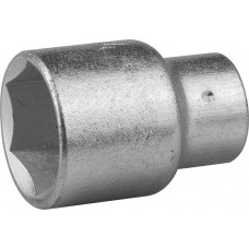 "Головка 15 мм, 6-гранная, CrV, под квадрат 1/2""// STELS 13826"
