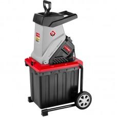 Измельчитель садовый электрический, ЗУБР ЗИЭ-40-2500, р/с 40 мм, контейнер 50 л, 2500 Вт