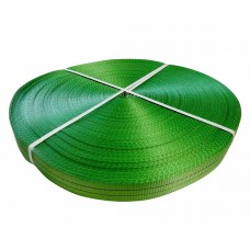 Лента полиэстер 50мм зеленая (2т) (цена за 1 метр)