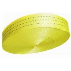 Лента полиэстер 75мм желтая (3т) (цена за 1 метр)