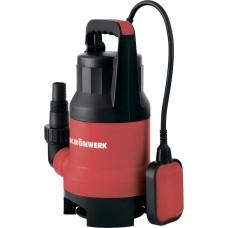Дренажный насос для грязной воды KP800, 800 Вт, подъем 8 м, 13000 л/ч // Kronwerk 97232