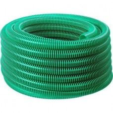 ЗУБР Шланг напорно-всасывающий со спиралью ПВХ, 3 атм, 25мм х 15м 40325-25-15