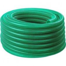 ЗУБР Шланг напорно-всасывающий со спиралью ПВХ, 3 атм, 32мм х 15м 40325-32-15