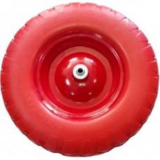 Колесо PU 380мм. 4.80/4.00х80 D20 бескамерное
