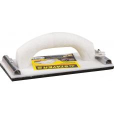 Терка STAYER для шлифования с металлическим фиксатором, 105x230мм 3569-10