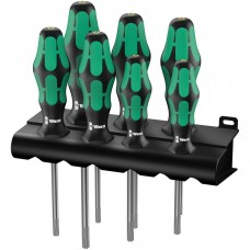 367/7 TORX® HF Kraftform Plus Набор отверток с фиксирующей функцией + подставка, 7 деталь WERA WE-223161