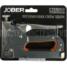 Степлер мебельный Jober с регулируемым ударом (4-14 mm) Тип скобы 53 мм. 391001/391002