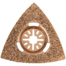 Насадка шлифовальная карбидная треугольная 80 мм FIT 37935