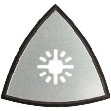 Подошва для МФИ для шлифовальных листов треугольная 80 мм FIT 37951