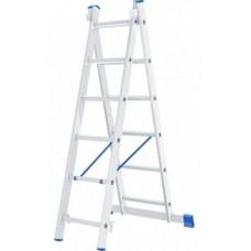 Лестница 2-х секционная алюминивая 2*6