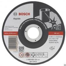 Круг отрезной 125*1,0 INOX Bosch 2608619267