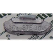 Грузик балансировочный для стального диска 30гр. (1шт.) CLIPPER 230 CLIPPER 0230 CLIPPER 0230