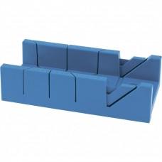 Стусло пластиковое,300 х 100мм, 4 угла для запила// Сибртех 22572