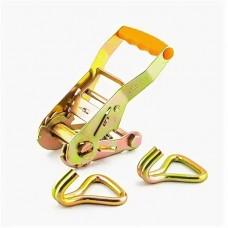 Механизм для стяжки груза 135мм на 1,5-3,0 т (шир.ленты 38мм) +2 крюка