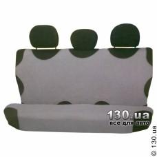 FORMA 330 Чехол-майка на заднее сиденье однотонный темно-серый (2 шт в комплекте)