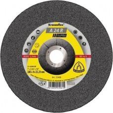 Круг зачистной 125*6*22,23 A 24 R INOX Klingspor 13402