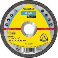 Круг отрезной 125*1*22,23 P0 A 60 EX Klingspor 262937