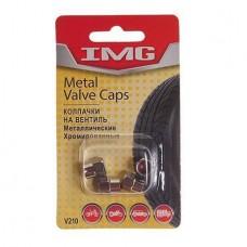 Колпачки на вентиль шины V210 CHROME металл (4шт) IMG /1/10 NEW