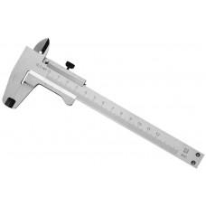 Штангенциркуль металлический тип 1, класс точности 2, 125мм, шаг 0,1мм СтИЗ 3445-125