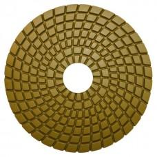Алмазный гибкий шлиф.круг(черепашка) 125мм #100 мокрое шлифование СTБ-31200100