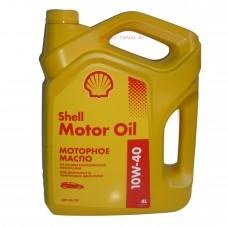 Масло SHELL Motor Oil 10W40(4л)