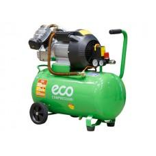 Компрессор ECO AE-502-3 (440 л/мин, 8 атм, коаксиальный, масляный, ресив, 70л, 220 В, 2.2 кВт) ECO AE-502-3