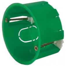 Коробка монтажная установочная 68*40 СУ для твердых стен 5 вводов круглая КУ 1106